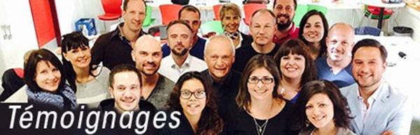 témoignage Ecole de PNL de PNL de Lausanne - EPNLL