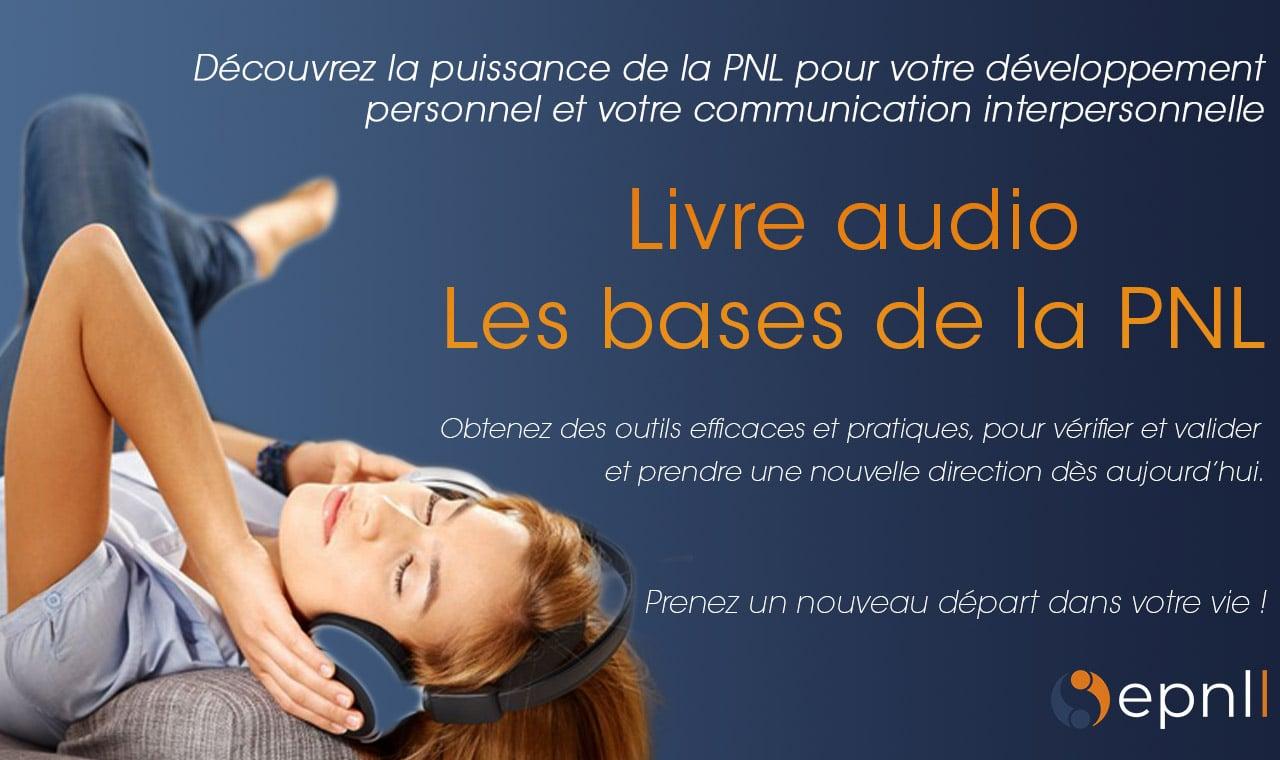 Image LIvre audio - Les bases de la PNL - école de pnl de lausanne - epnll