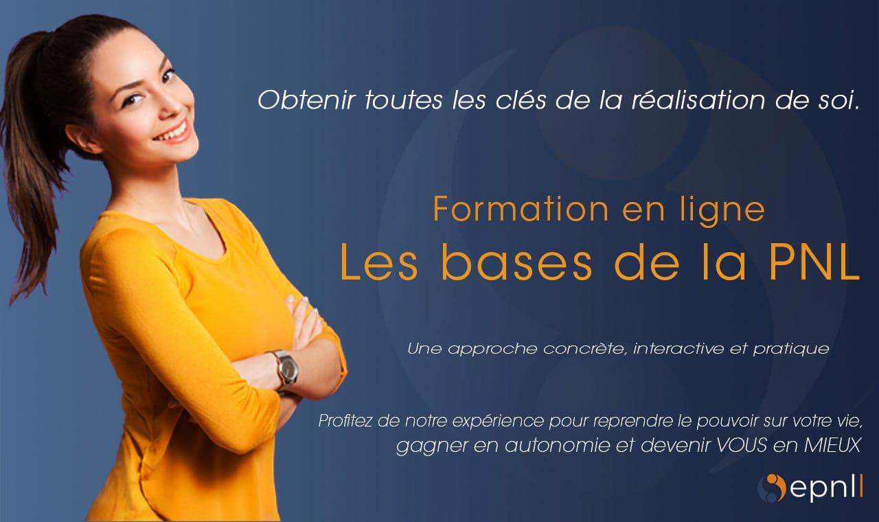 image formation en ligne - elearning - Les base de la PNL - Développement personnel - Programmation Neuro Linguistiqueepnll